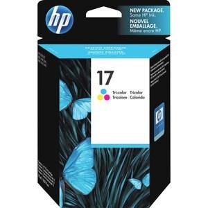 HP No. 17 Tri-color Ink Cartridge