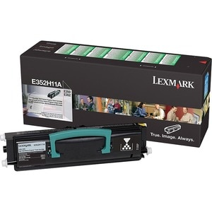 Lexmark High Yield  Black  Toner Cartridge For  E350D and E352DN Mono Laser Printer