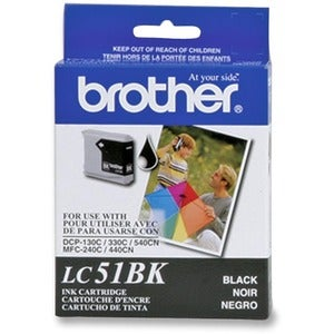 Brother LC51BKS Black Ink Cartridge - Thumbnail 0