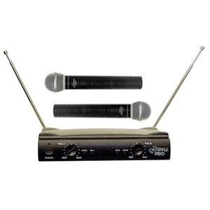 Pyle PDWM2500 Dual Wireless Microphone System