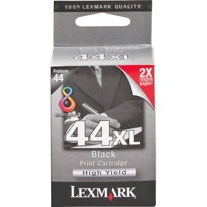 Lexmark No. 44 Black Ink Cartridge For X9350 Printer (NO....