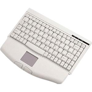 """SolidTek Mini Keyboard 88 Keys with Touchpad Mouse KB-540U (Mini w/ TouchPad USB 13.38""""L)"""
