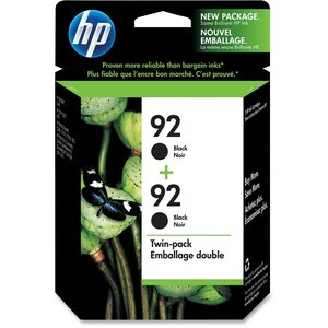 HP No. 92 Black Ink Cartridge with Vivera Ink