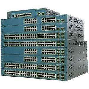 Cisco Catalyst 3560-8PC Managed Ethernet Switch with PoE