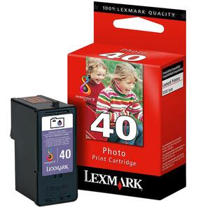 Lexmark No. 40 Photo Color Ink Cartridge for X9350
