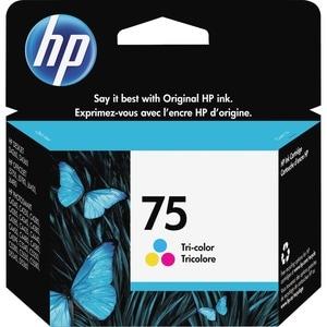 HP No. 75 Tri-color Ink Cartridge
