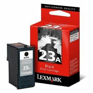 Lexmark #23A Black Ink Cartridge For X3530, X3550, X4530, X4550 and Z1420 Printers