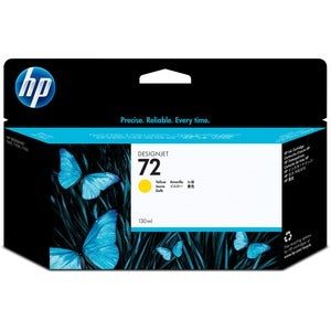 HP 72 Yellow Ink Cartridge For Designjet T610 and T1100 Printers