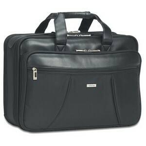 Solo Smart Strap 15.4-inch Laptop Portfolio Briefcase