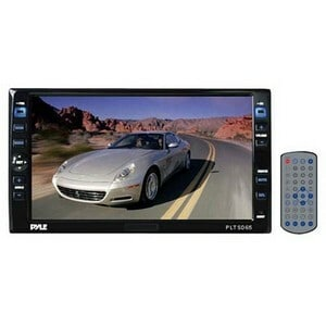 Pyle PLTSD65 Double DIN 6.5-inch Touchscreen Monitor/ DVD (Refurbished)