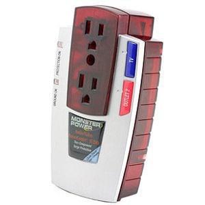 Monster Cable PowerCenter MP AP200 2-Outlets Surge Suppressor