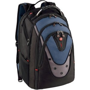 Swiss Gear Blue Ibex 17-inch Laptop Backpack (Blue), Size...