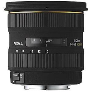 Sigma 10-20mm f/4-5.6 EX DC HSM Autofocus Super Wide Angle Zoom Lens