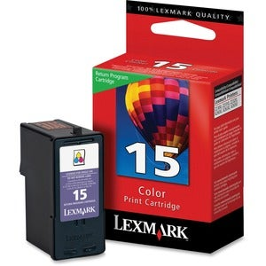Lexmark No.15 Tri-Color Ink Cartridge