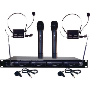 Pyle PDWM4300 Wireless Microphone System