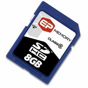 EP MEMORY 8GB miniSD High Capacity Card