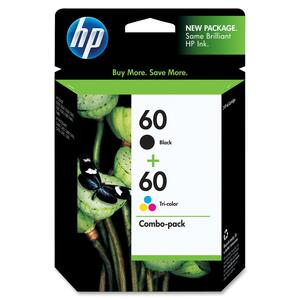 HP No. 60 Black/ Color Ink Cartridges for Deskjet F4280