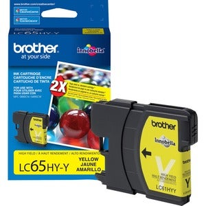 Brother High Yield Yellow Ink Cartridge For MFC-6490CW Printer