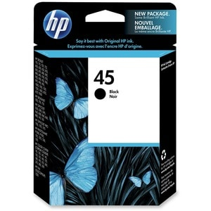 HP No. 45 Black Ink Cartridge - Thumbnail 0