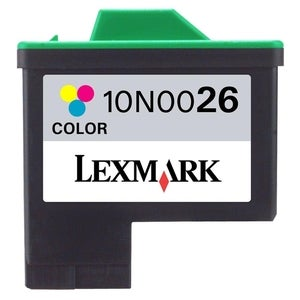 Lexmark 10N0026 Yellow Magenta Cyan Tri-Color Ink Cartridge