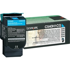 Lexmark Return High Capacity Cyan Toner Cartridge