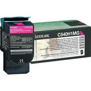 Lexmark Return High Capacity Magenta Toner Cartridge