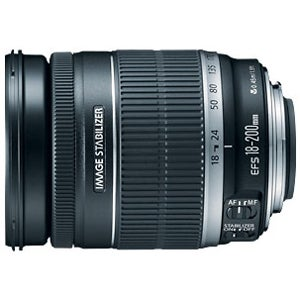 Canon EF-S 18-200mm f/3.5-5.6 IS Zoom Lens - Thumbnail 0