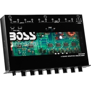Boss EQ1208 Car Equalizer - 2 Channel - Graphic - Fader - 4 Band