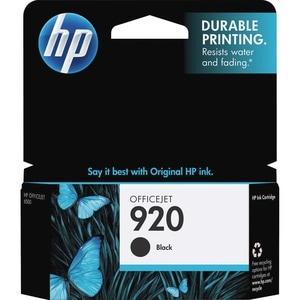 HP No. 920 Black Ink Cartridge