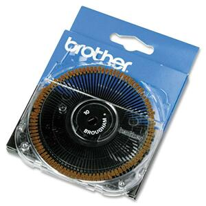 Brother Brougham 10-pitch Cassette Daisywheel