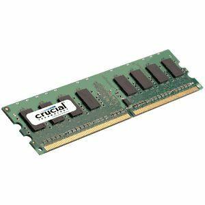 Crucial 2GB DDR2 SDRAM Memory Module