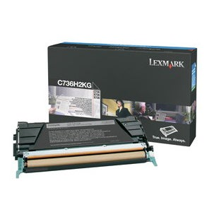 Lexmark Black High Yield Toner Cartridge (Pack of 1)