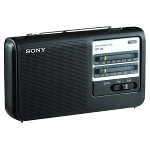 Sony ICF-38 Portable Radio Tuner