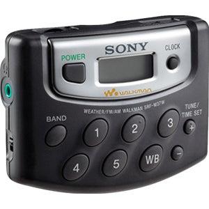 Sony Walkman SRF-M37W Radio Tuner