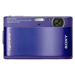 Sony Cyber-shot DSC-TX1 Point & Shoot Digital Camera - Blue