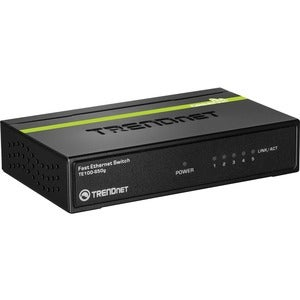 TRENDnet 5-Port 10/100Mbps GREENnet Switch w/ $5.00 Mail-In Rebate - Thumbnail 0