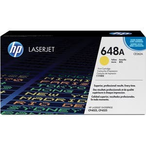 HP 648A Standard Yield Yellow Toner Cartridge (CE262A)