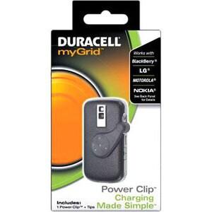 Duracell myGrid Cellphone Power Clip