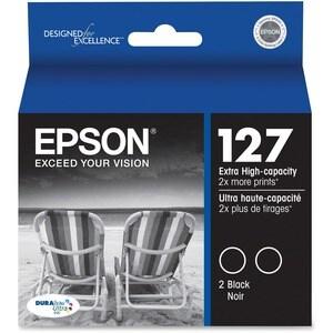 Epson DURABrite T127120-D2 Ink Cartridge - Black