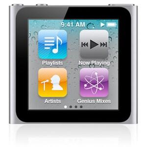 Apple iPod nano MC525LL 8 GB Flash MP3 Player - Silver