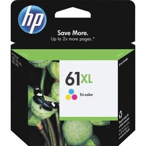 HP Genuine No. 61XL Ink Cartridge - Cyan, Magenta, Yellow