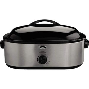 Oster CKSTRS18 Electric Oven, Silver Stainless Steel