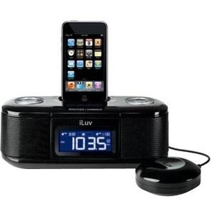 iLuv iMM153 Desktop Clock Radio - Stereo - Apple Dock Interface