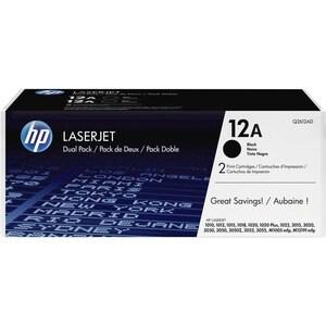 HP No. 12A Toner Cartridge - Black
