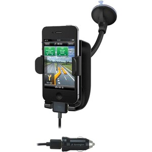 Kensington SoundWave Power Sound Amplifying Car Mount and Charger