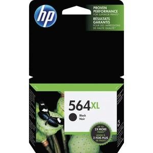 HP Genuine No. 564XL Ink Cartridge - Black