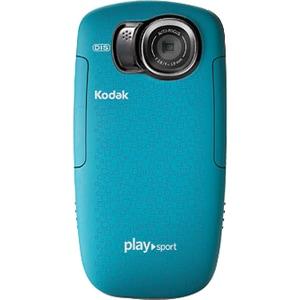 "Kodak ZX5 Digital Camcorder - 2"" LCD - CMOS - Full HD - Aqua"