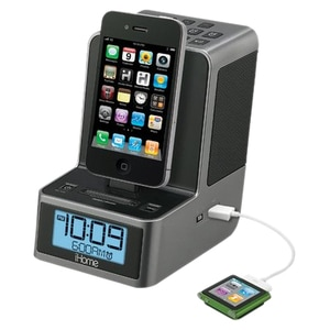 iHome ID37 Clock Radio - Stereo - Apple Dock Interface