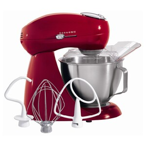 Hamilton Beach Red 4 Quart All-Metal Stand Mixer