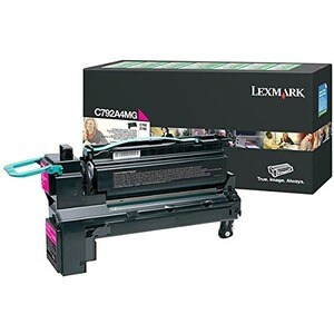 Lexmark C792A4MG Toner Cartridge - Magenta
